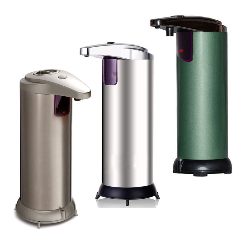 Smart Stainless Steel  Hands Free Soap Dispenser  Battery Operated