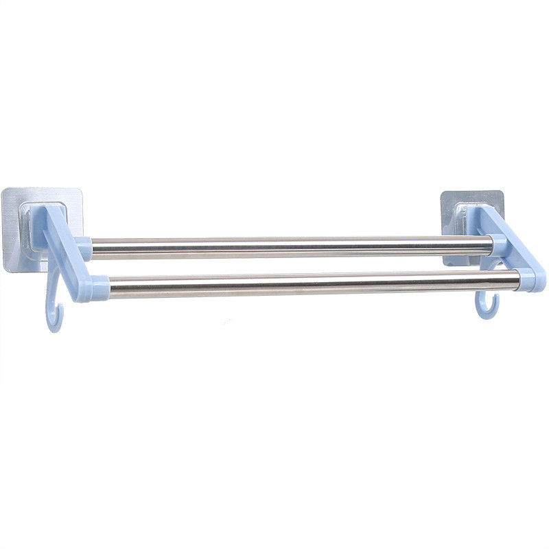 Perforation - Free Bathroom Towel Rack Stainless Steel Wall Mounted Towel Holder